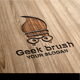 Geek Brush Logo - GraphicRiver Item for Sale
