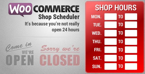 CodeCanyon WooCoomerce Shop Scheduler 6261724
