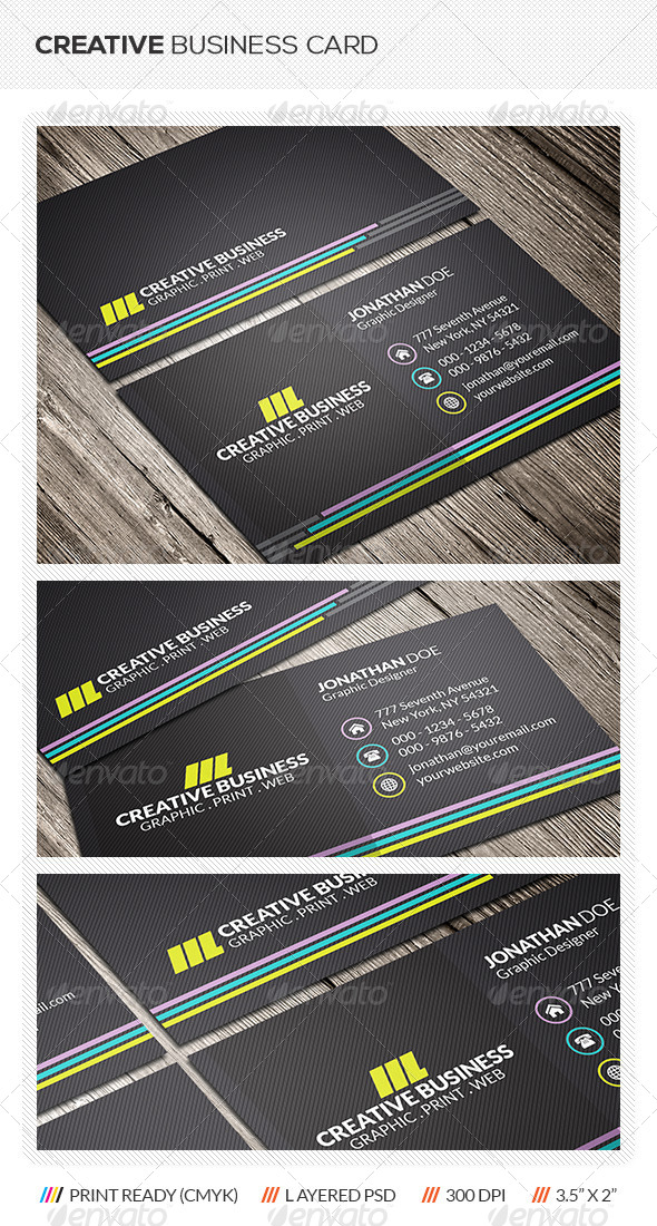 GraphicRiver Creative Business Card 6261757