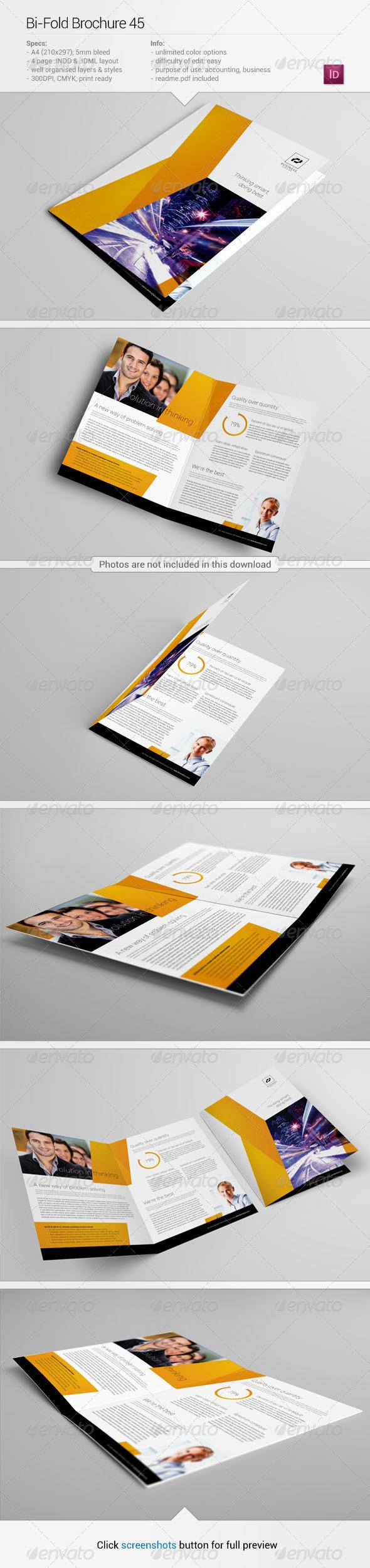 GraphicRiver Bi-Fold Brochure 45 6261790