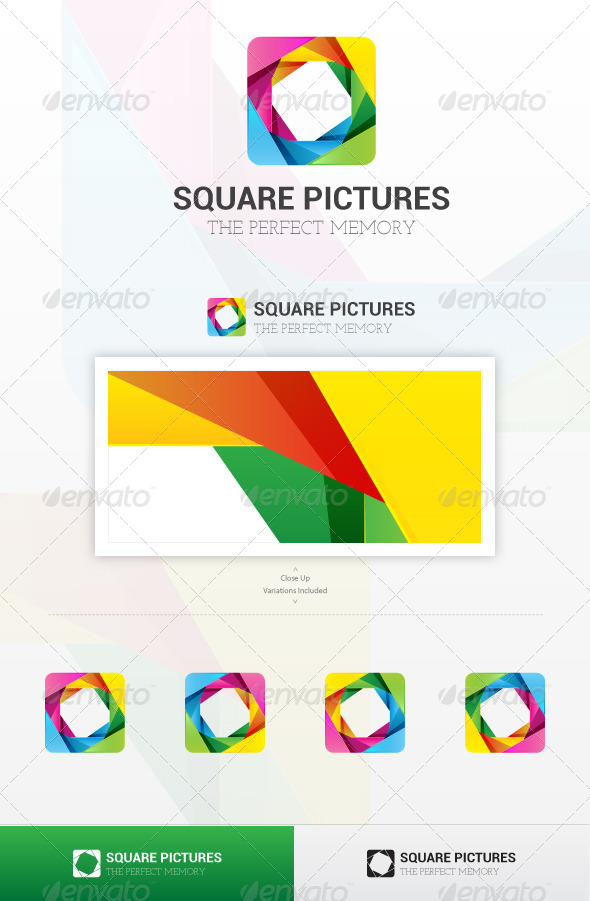 GraphicRiver Square Pictures Logo 6261797