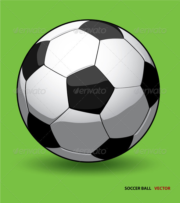 GraphicRiver Soccer Ball Vector 6261799