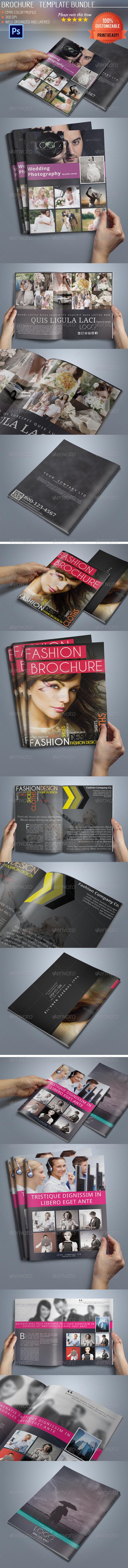 Bi-Fold Business Brochure Bundle