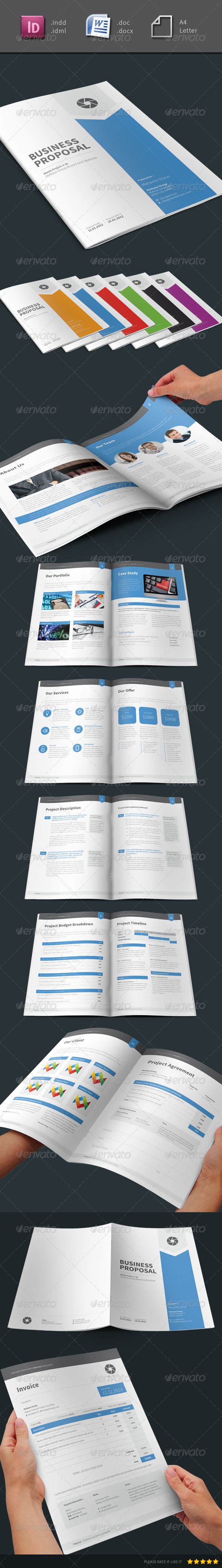 GraphicRiver Mimin Proposal 6262285