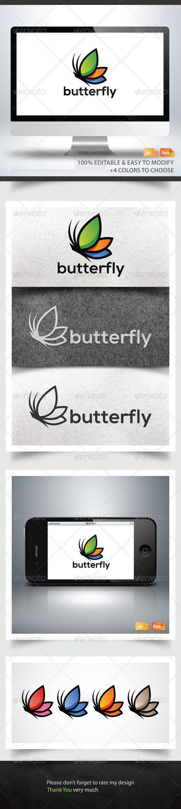 GraphicRiver Butterfly 6262508