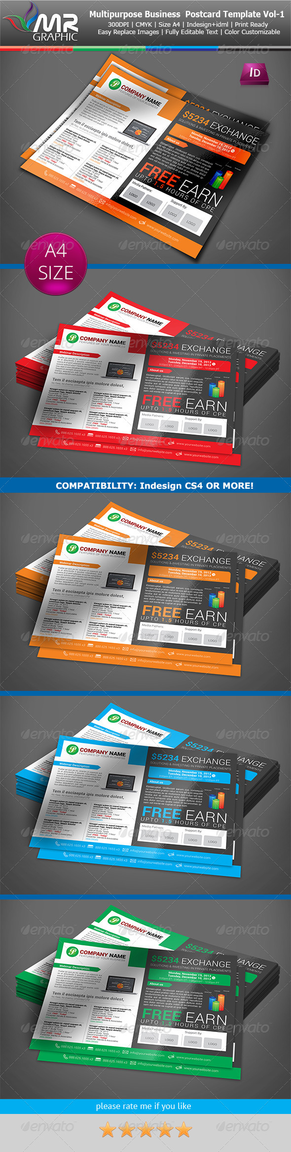 GraphicRiver Multipurpose Business Flyer Template Vol-06 6237860