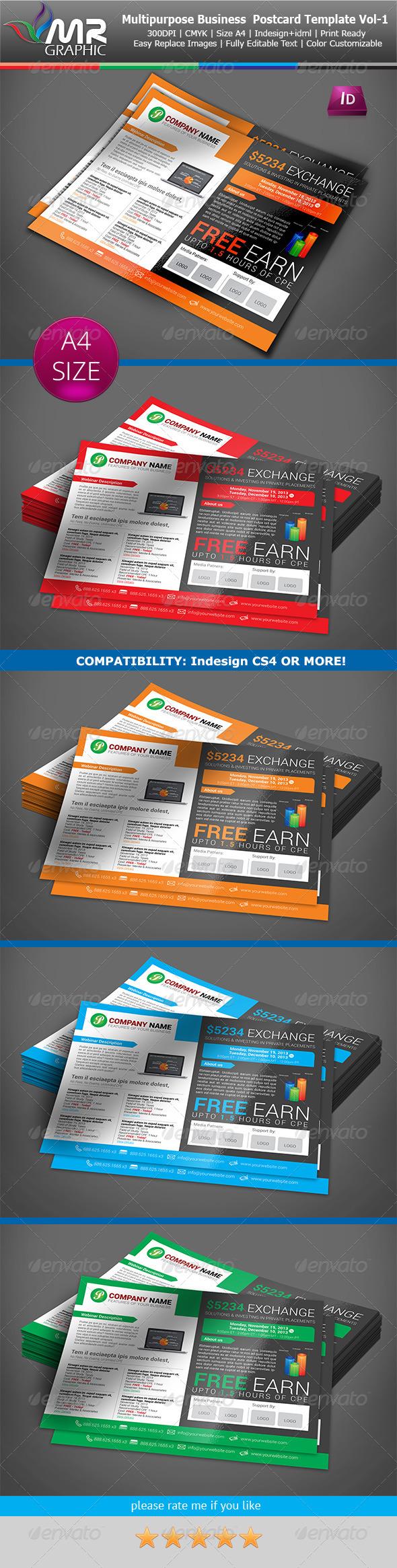 GraphicRiver Multipurpose Business Flyer Template Vol-06 6237860