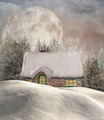 Enchanted Winter Chalet  - PhotoDune Item for Sale