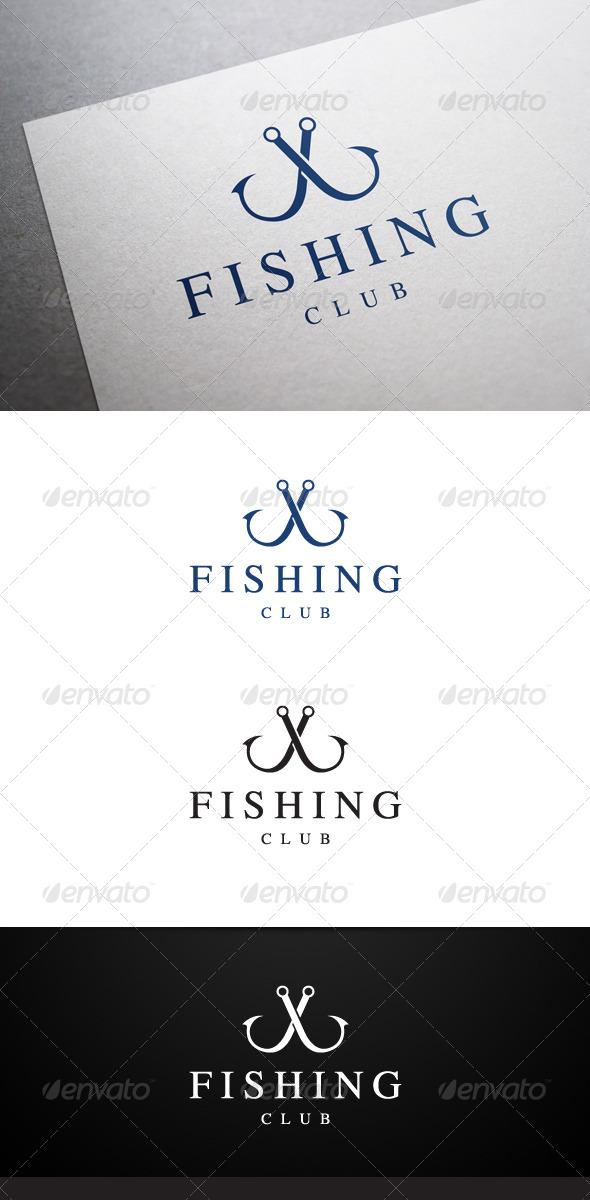 GraphicRiver Fishing Club Logo 6263016