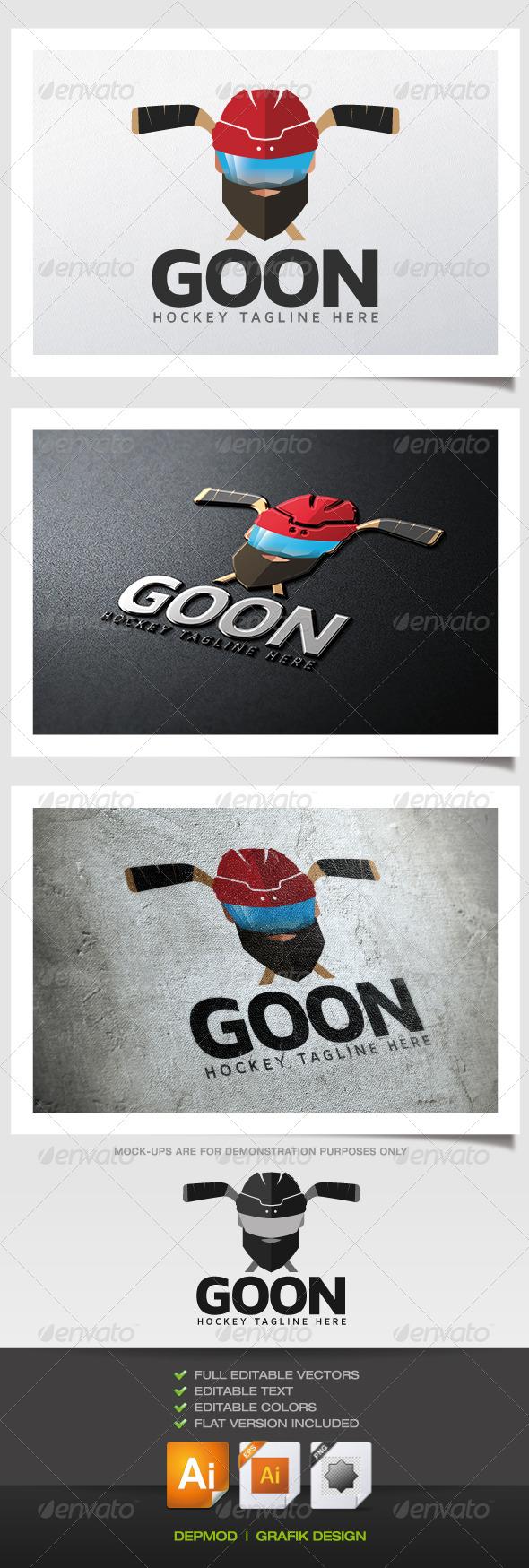 GraphicRiver Goon Logo 6263017