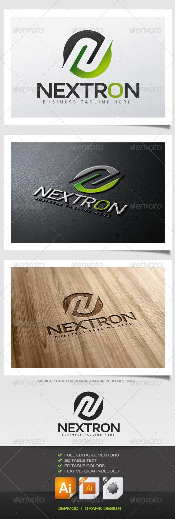 GraphicRiver Nextron Logo 6263637