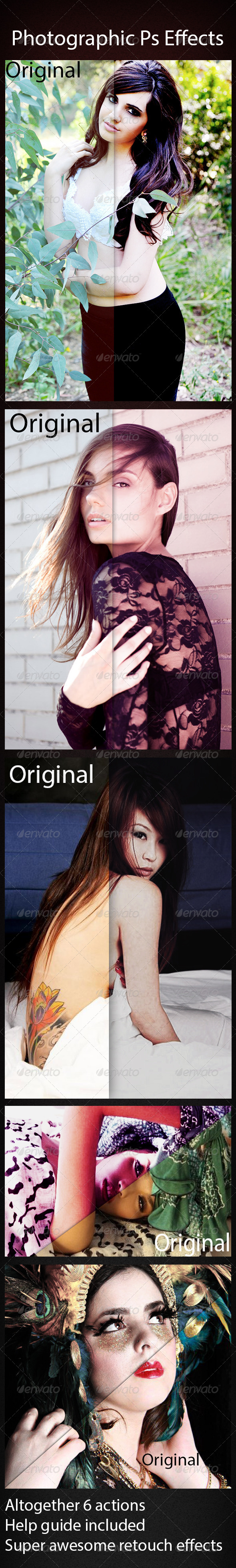 GraphicRiver Photographic Ps Effects 6263735