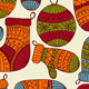 Vector Seamless Winter Christmas Pattern