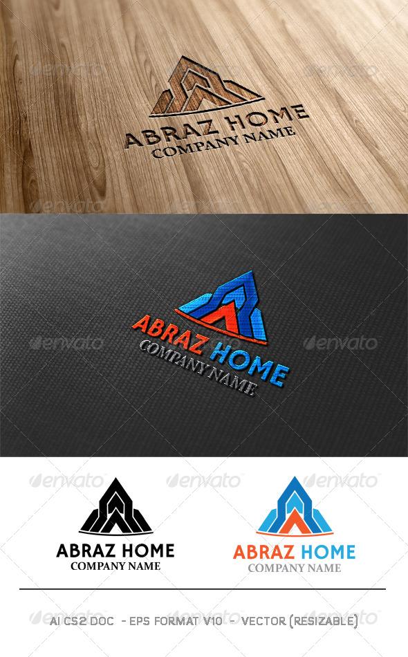 GraphicRiver Abraz Home Logo 6263978
