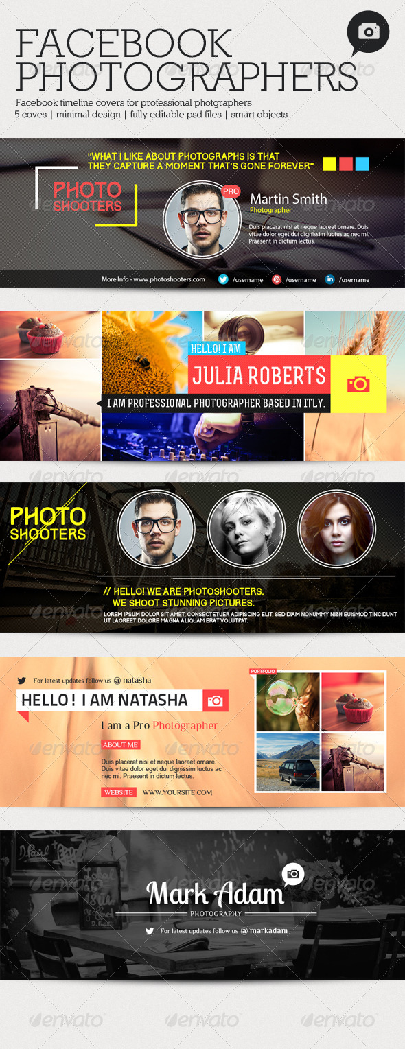 GraphicRiver Facebook Photographers 3 6264023