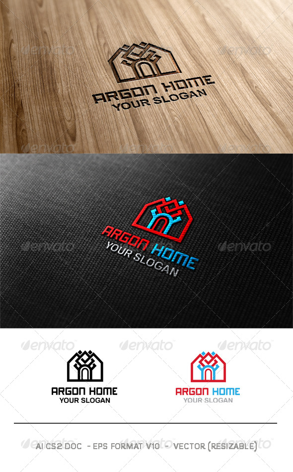 GraphicRiver Argon Home Logo 6264033