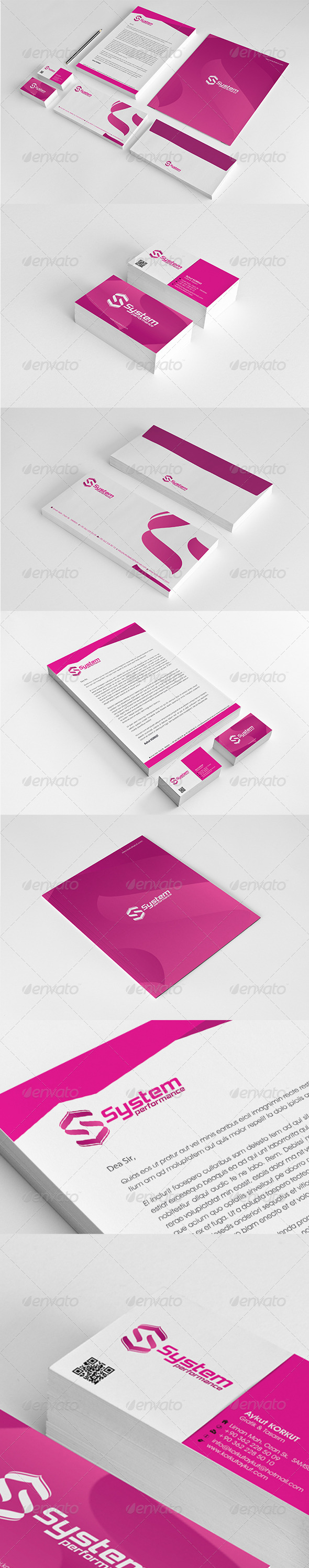 GraphicRiver System Performance Corporate Identity Package 6264052