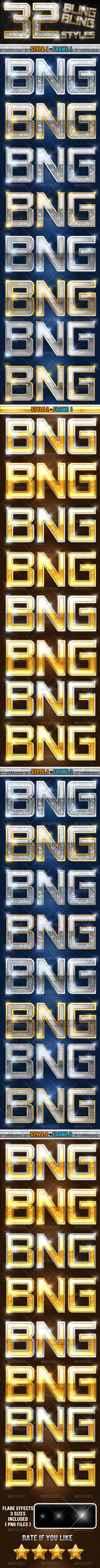 GraphicRiver 32 Bling Bling And Luxury Styles 6264402