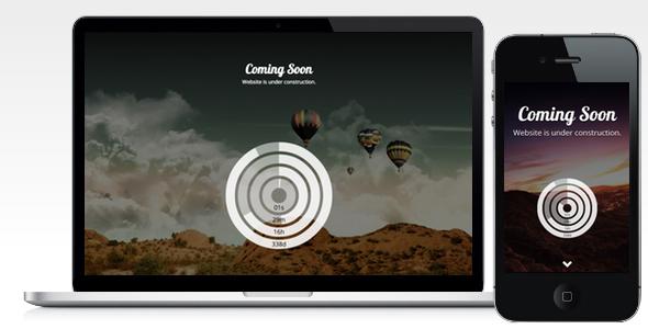 Soonlook - Coming Soon Template