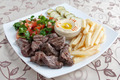 Beef steak with potato and vegetables - PhotoDune Item for Sale