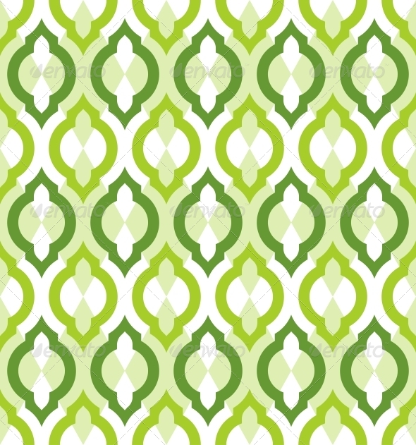 GraphicRiver Vector Seamless Pattern Moroccan Style 6265191