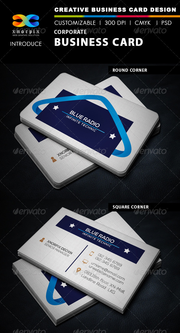 GraphicRiver Corporate Business Card 6250363