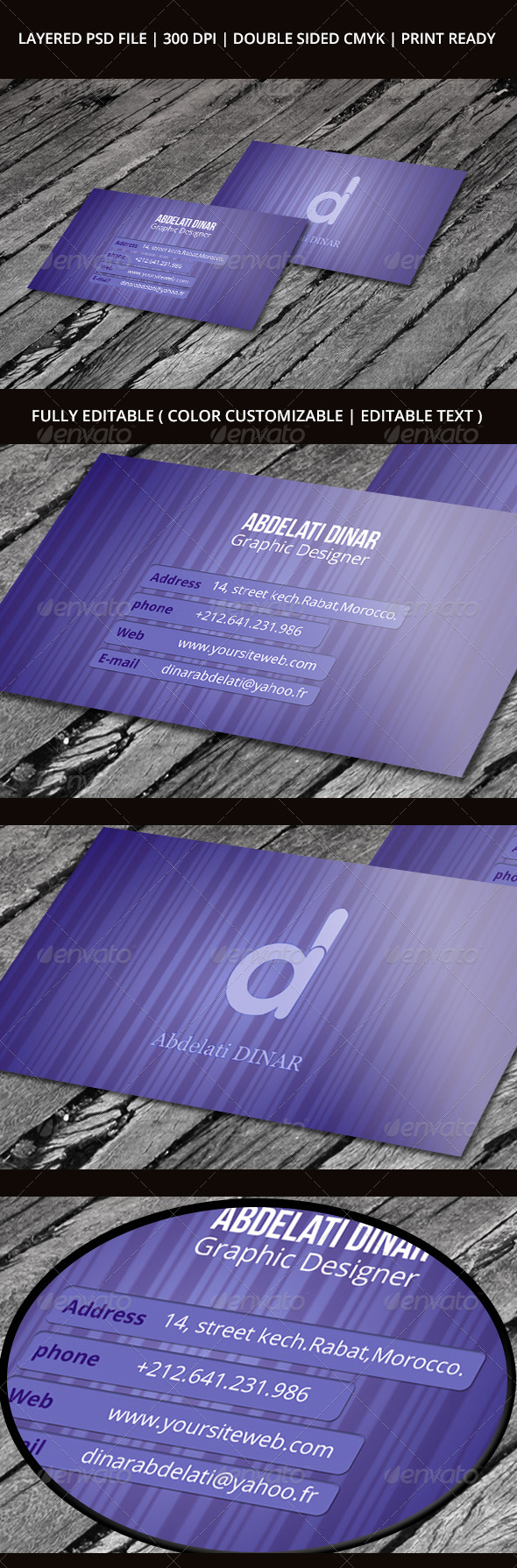 Business Card 03 - Creative Business Cards