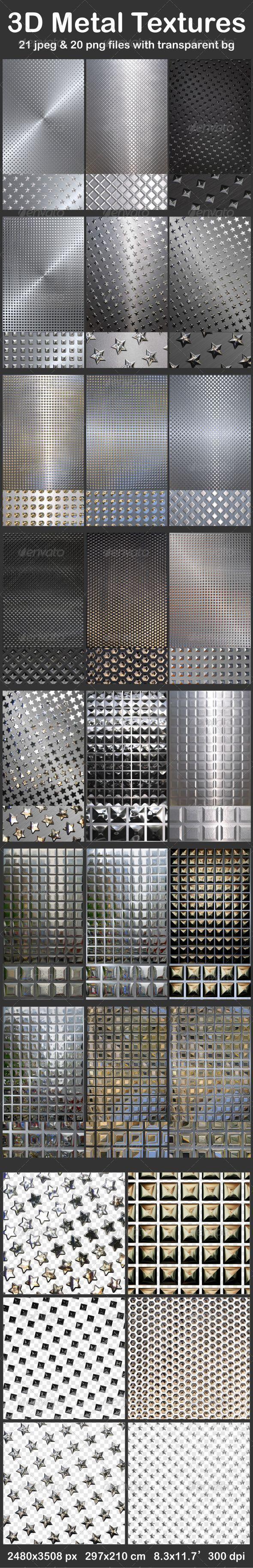 GraphicRiver 3D Metal Textures 6265518