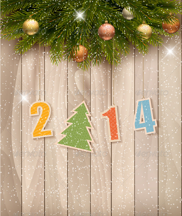 GraphicRiver Happy New Year Background 6266395