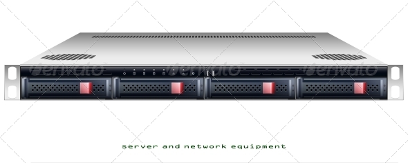 GraphicRiver Server Rackmount Chassis 6266445
