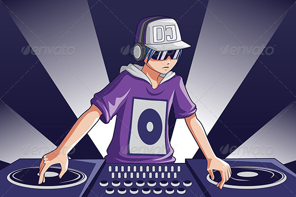 GraphicRiver Music DJ 6266540
