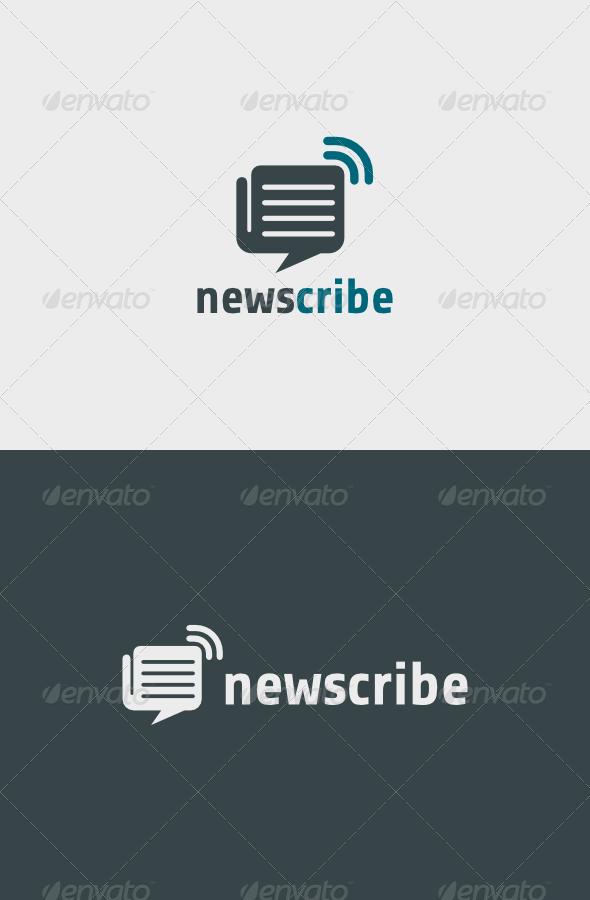 GraphicRiver Newscribe Logo 6266862