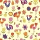 Seamless Pattern with Birds and Flowers - GraphicRiver Item for Sale