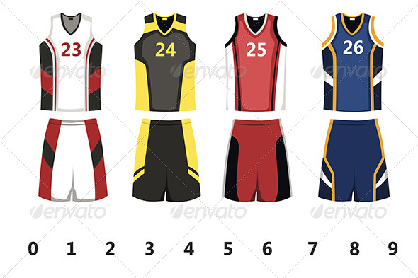 GraphicRiver Basketball Jersey 6267304