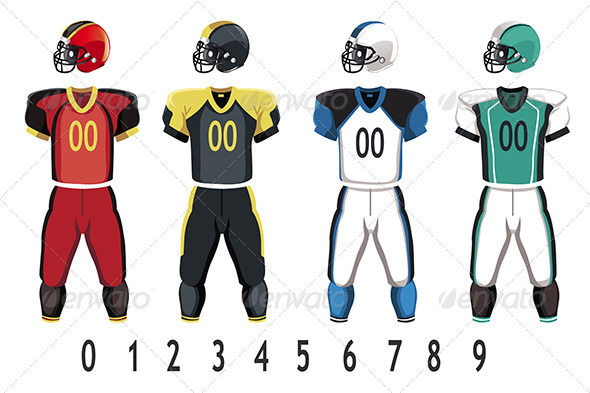 GraphicRiver Football Jersey 6267337