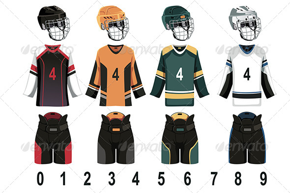 GraphicRiver Ice Hockey Jersey 6267347