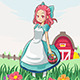 Country Farm Girl - GraphicRiver Item for Sale