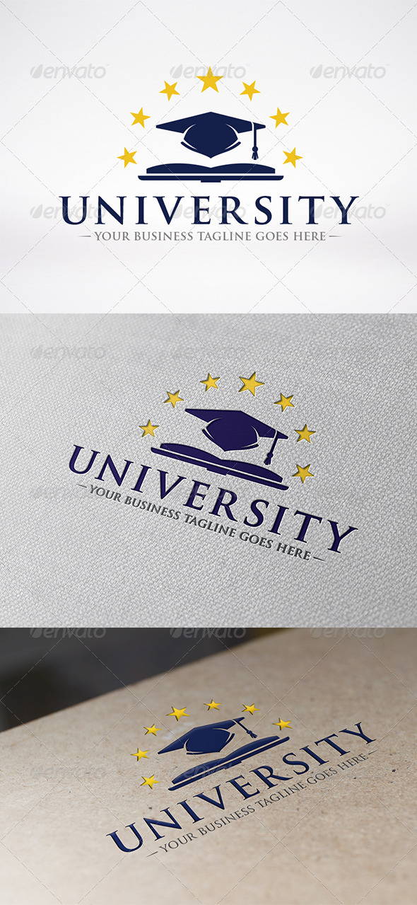 GraphicRiver University Logo Template 6267910