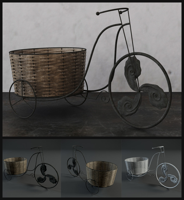 3DOcean Old Antique Bicycles 6265464