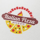 Italian Pizza Logo Template - GraphicRiver Item for Sale
