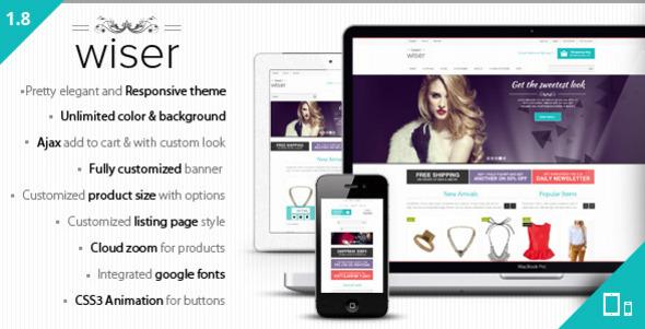 Wiser - Responsive Magento Theme - Shopping Magento