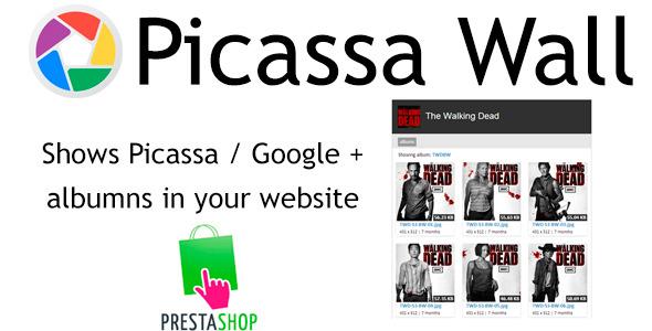 Prestashop PicassaWall - CodeCanyon Item for Sale