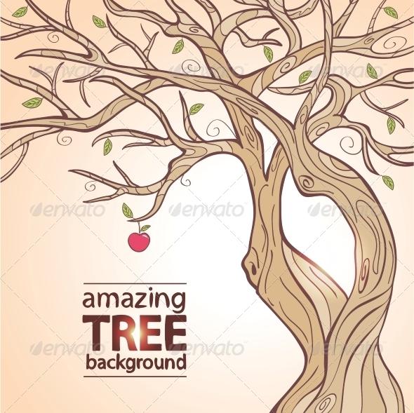 GraphicRiver Apple Tree 6268797