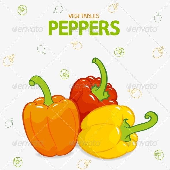 GraphicRiver Peppers Sweet 6268970