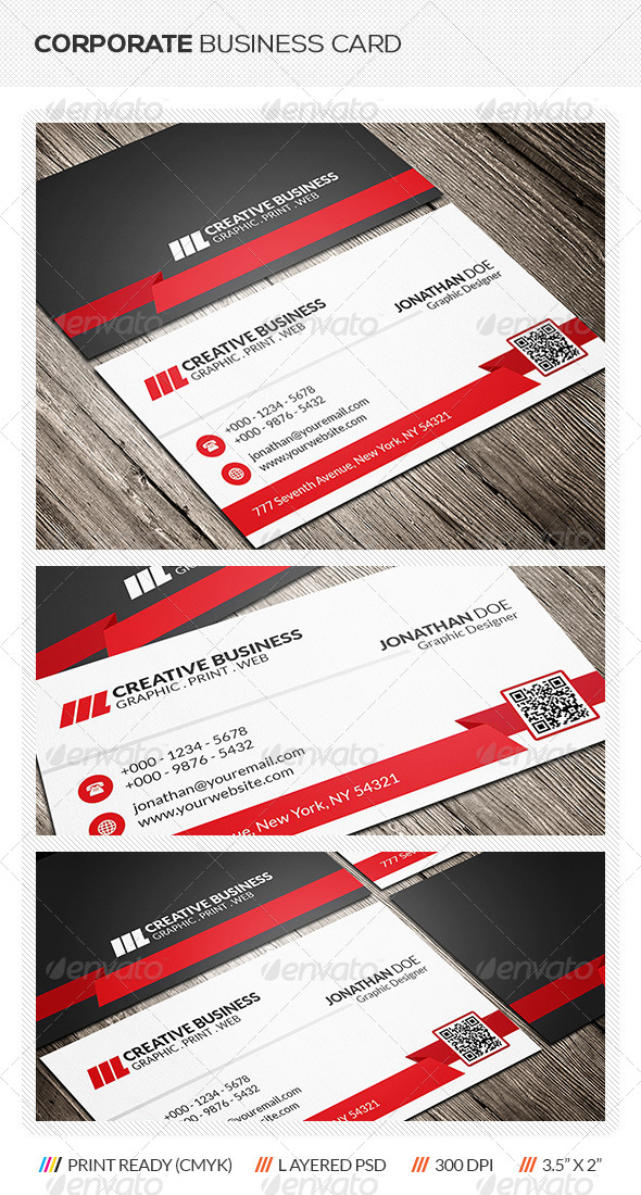 GraphicRiver Corporate Business Card 6269308