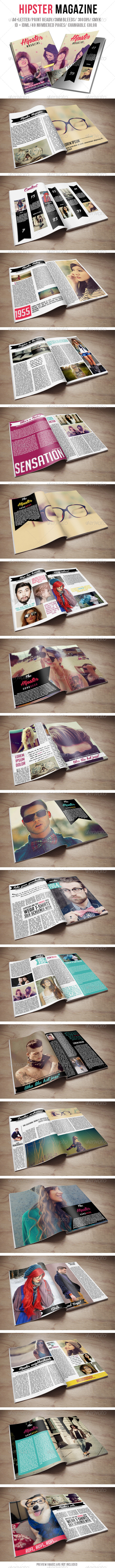 GraphicRiver Hipster Magazine 6270254