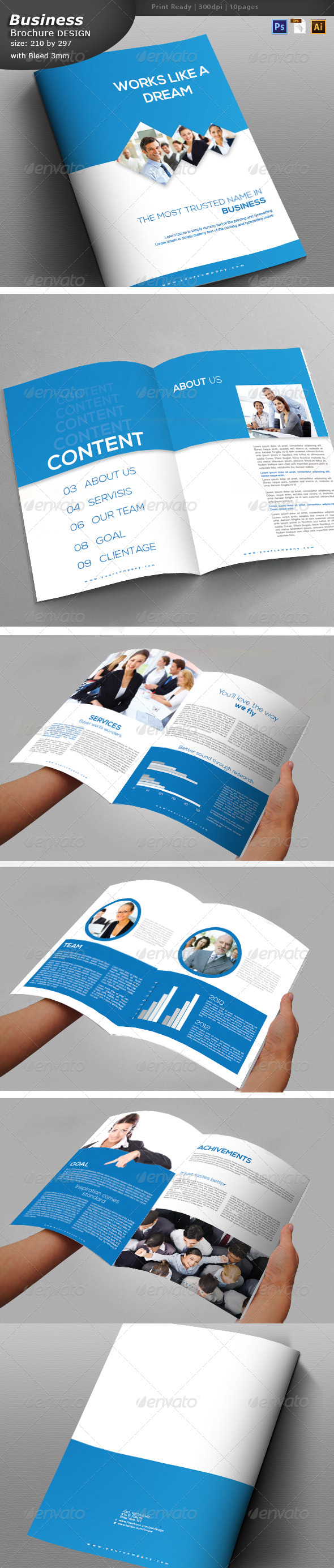GraphicRiver Officail Document Design 6262937