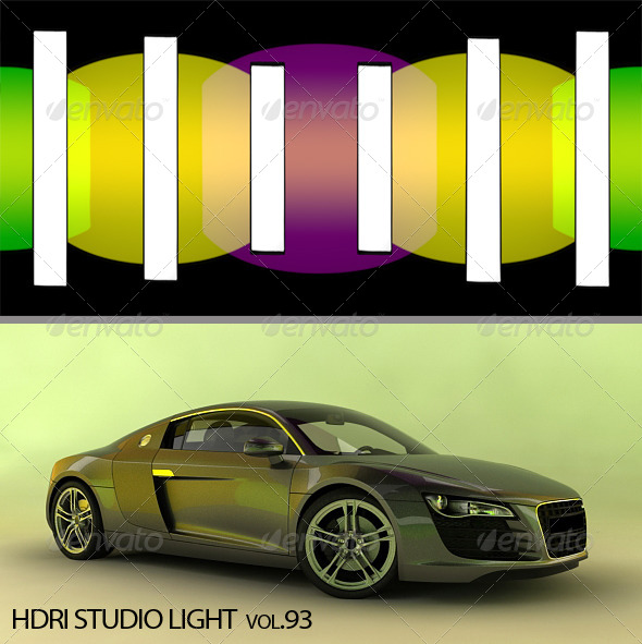 HDRI_Light_93 - 3DOcean Item for Sale