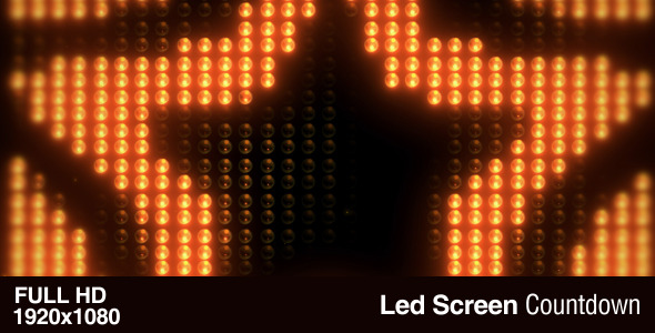Led Screen Count Down