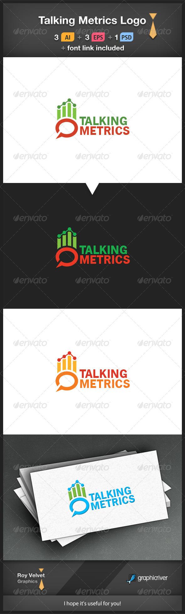 GraphicRiver Talking Metrics Logo 6270335
